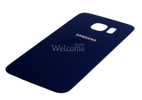 Задняя крышка Samsung G925F Galaxy S6 EDGE blue orig