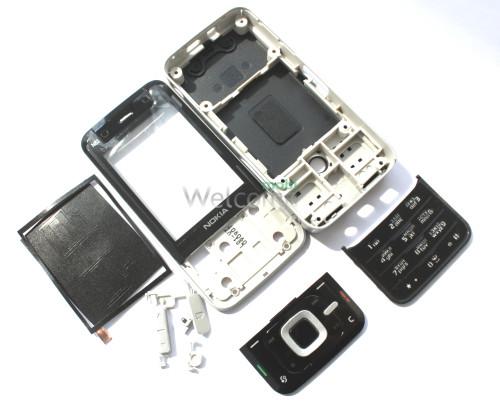 Корпус Nokia N81 black high copy