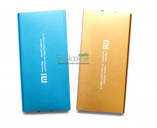Внешний аккумулятор (power bank) MI 14800mAh 2USB(1A+2A)+ LED фонарь