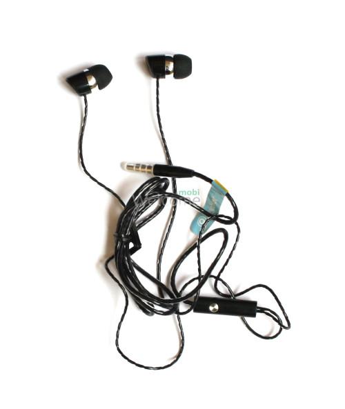 Наушники вакуумные Celebrat S-20 black+mic (гарнитура)