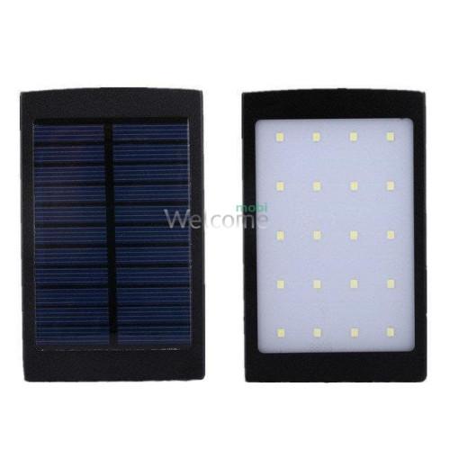 Внешний аккумулятор (power bank) Solar charger UKC 32000mAh 2USB (2A+1A)+LED 20 smd (три режима)