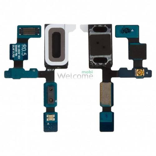 Шлейф Samsung G925F Galaxy S6 EDGE с динамиком, датчиком освещённости, датчиком приближенности