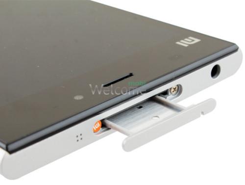 Sim holder Xiaomi Mi3 white