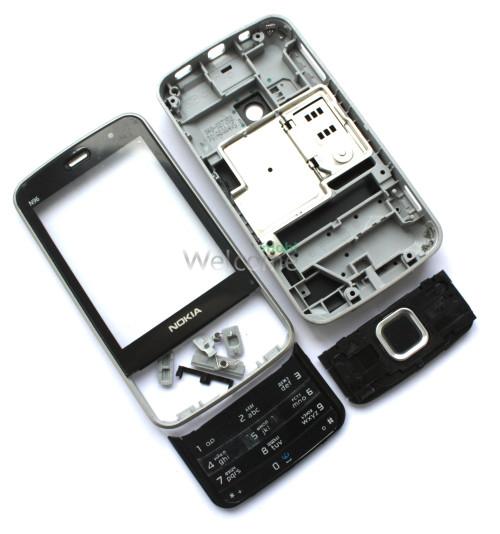 Корпус Nokia N96 black high copy полный комплект