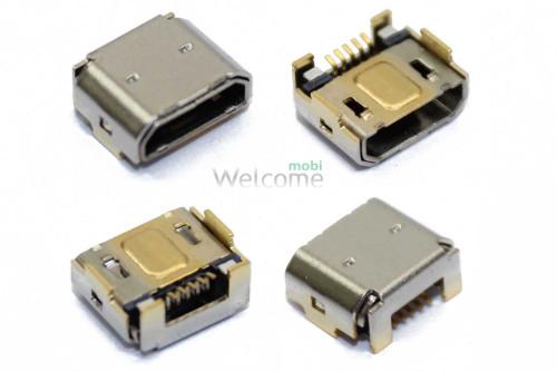 Коннектор зарядки Sony C5302 M35h Xperia SP,C5303,C6502,HTC One M8 (5 шт.)