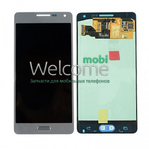 Дисплей Samsung SM-A500H Galaxy A5 silver with touchscreen service orig