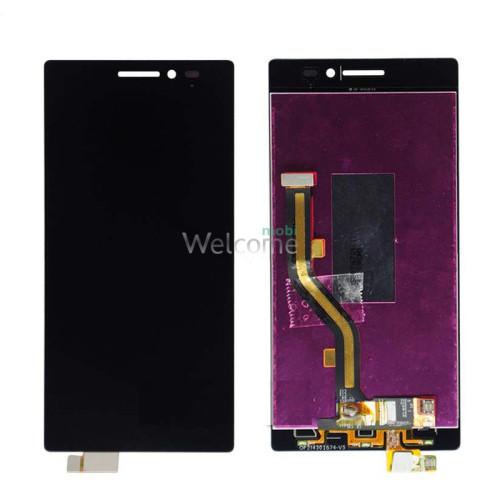Дисплей Lenovo VIBE X2 wth touchscreen black with frame orig