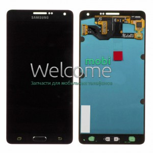 Дисплей Samsung SM-A700H Galaxy A7 black with touchscreen service (rev.0.1) orig
