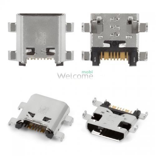 Коннектор зарядки Samsung G350,G530,,G3815,G7102,S7272,J710,J510 (5 шт.)