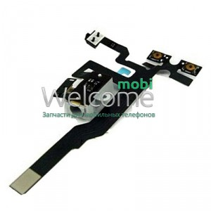 Iphone4S audio flex cable black high copy