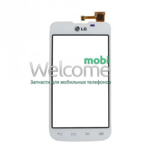 Сенсор LG Optimus L5 E455 white high copy