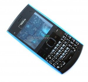 Корпус Nokia X2-01 blue high copy полный комплект