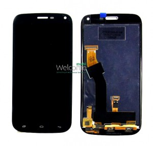 Дисплей FLY IQ458 with touchscreen black orig