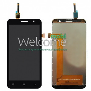 Дисплей Lenovo A806,A808 with touchscreen black orig