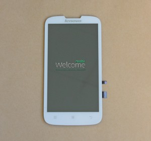 Дисплей Lenovo A560 with touchscreen white orig