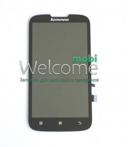 Дисплей Lenovo A560 with touchscreen black orig