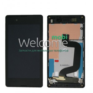 Дисплей Sony D2202,D2212 Xperia E3 with touchscreen black orig