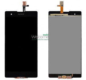 Дисплей Sony D5303 Xperia T2 Ultra,D5306,D5322 with touchscreen black orig