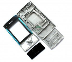 Корпус Nokia X3-00 blue high copy