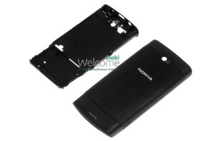 Корпус Nokia X3-02 black high copy
