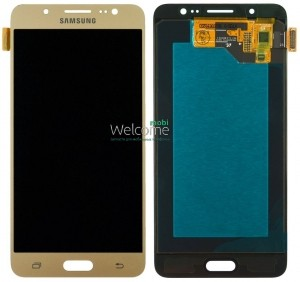 Дисплей Samsung SM-J510H Galaxy J5 (2016) gold with touchscreen service orig