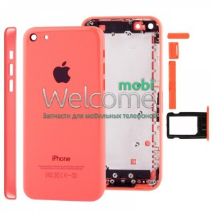 iPhone5C back cover red orig