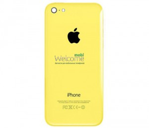 iPhone5C back cover yellow orig
