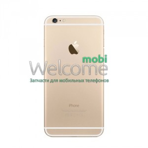 iPhone6 Plus back cover gold