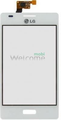 Сенсор LG E610,E612 Optimus L5 white orig