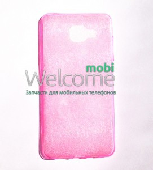 Чехол Remax Ultrathin Samsung A510 силикон прозрачный pink 0.2mm