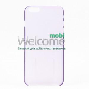 Чехол Remax Ultrathin iPhone 6 силикон прозрачный violet 0.2mm