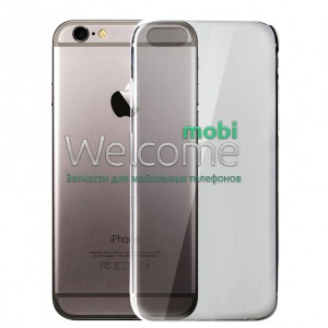 Чехол Remax Ultrathin iPhone 7,iPhone 8 силикон прозрачный black 0.2mm