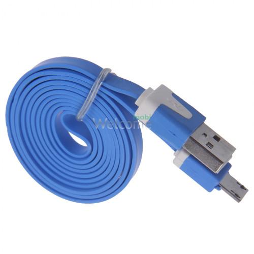 USB кабель micro Grand blue
