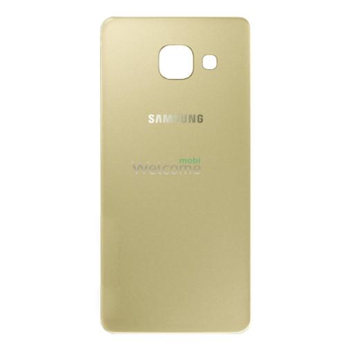 Задняя крышка Samsung A310F Galaxy A3 gold orig