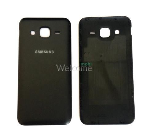 Задняя крышка Samsung J200H Galaxy J2 black orig