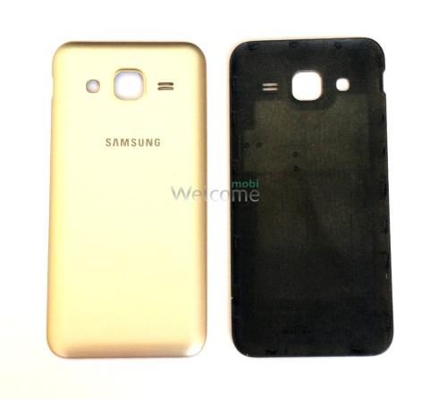 Задняя крышка Samsung J200H Galaxy J2 gold orig