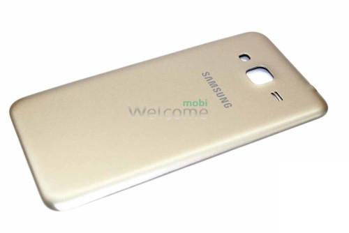 Задняя крышка Samsung J320F Galaxy J3 (2016) gold orig