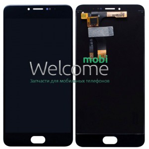 Дисплей Meizu M3 Note with touchscreen black orig	(версия M681h)
