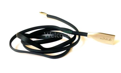 USB кабель micro Grand GC-29M Black 1м