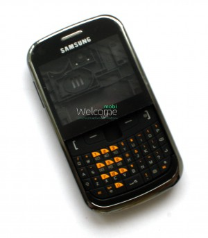 Корпус Samsung S3350 black high copy полный комплект