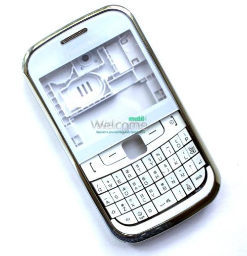 Корпус Samsung S3350 white high copy полный комплект+кнопки