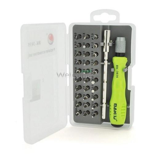 Набор инструментов LUKEY L3035 (Ручка, 30 насадок, надфиль)