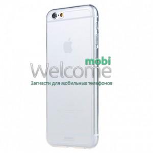 Чехол Remax Ultrathin iPhone 6,iPhone 6s силикон прозрачный white 0.2mm