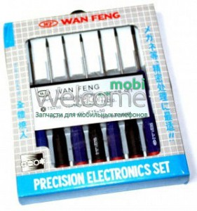 Набор отверток WAN FENG  Professional screw dtiver set 7pcs №WF-9900