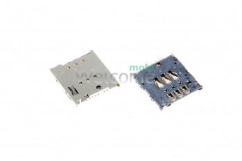 Коннектор sim Meizu MX2,MX3,MX4,MX4 Pro,LT22