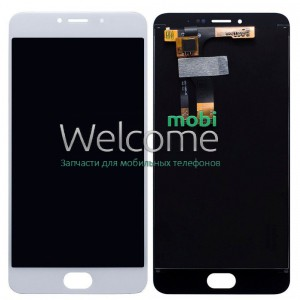 Дисплей Meizu M3 Note with touchscreen white orig	(версия M681h)