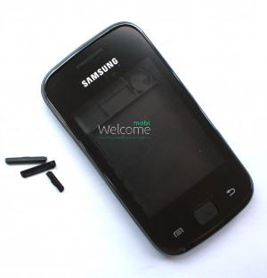 Корпус Samsung S5560 black high copy полный комплект