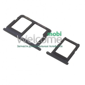 Sim holder Samsung G570F Galaxy J5 Prime black