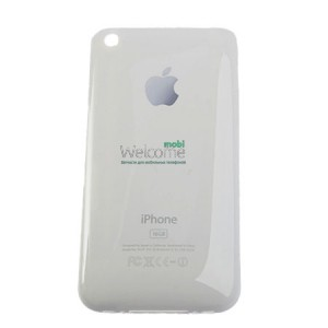 iPhone3G back cover white 8GB orig