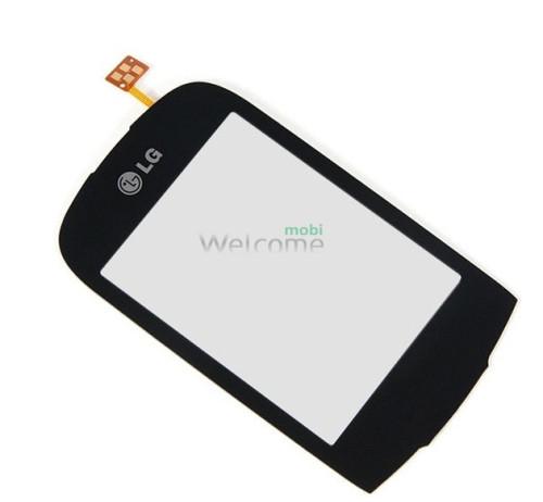 Сенсор LG T500,T510,T515 black high copy